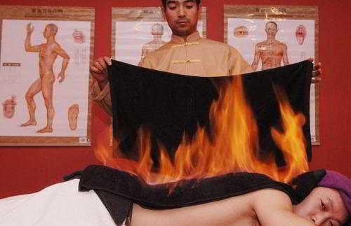 Процедуры с огнём ради собственной красоты (5 фото)