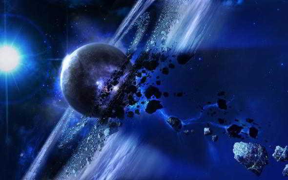 Фантастические обои космической тематики