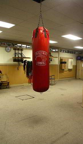 Боксерская груша своими руками