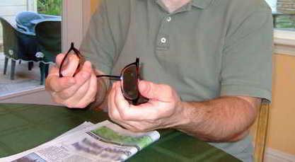 Как отремонтировать очки самому